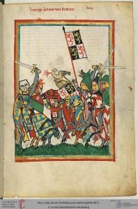 Hertug Johann von Brabant (1254-1294) fra Codex Manesse.